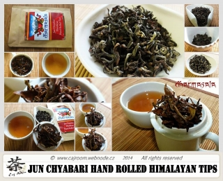 Čaj Jun Chiyabari Himalayan Handrolled Tips 2014 BIO 50g